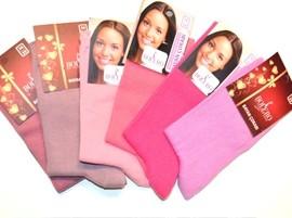 Vienspalvės moteriškos kojinės