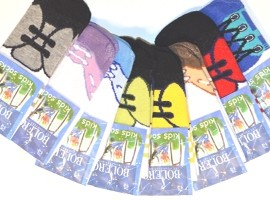Žaismingos kojinės vaikams (1 - 2 m.)